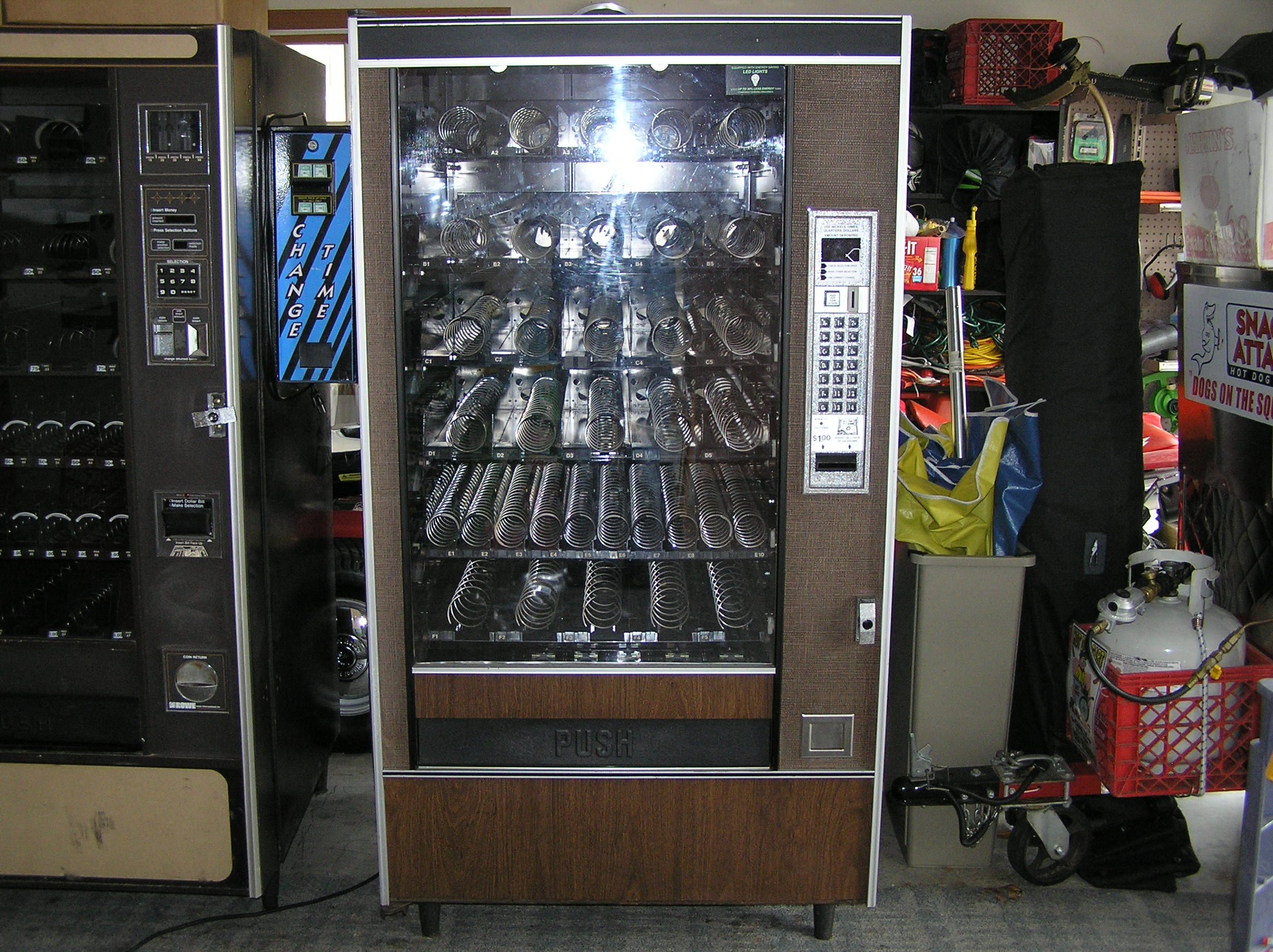 (AP) AUTOMATIC PRODUCTS SNACKSHOP 4600, 6600 & 7600 COIN CHUTE/!