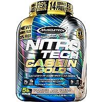 MuscleTech 肌肉科技 Nitro Tech金牌纯乳清酪蛋白粉,奶油饼干味,5磅(约2.3千克)