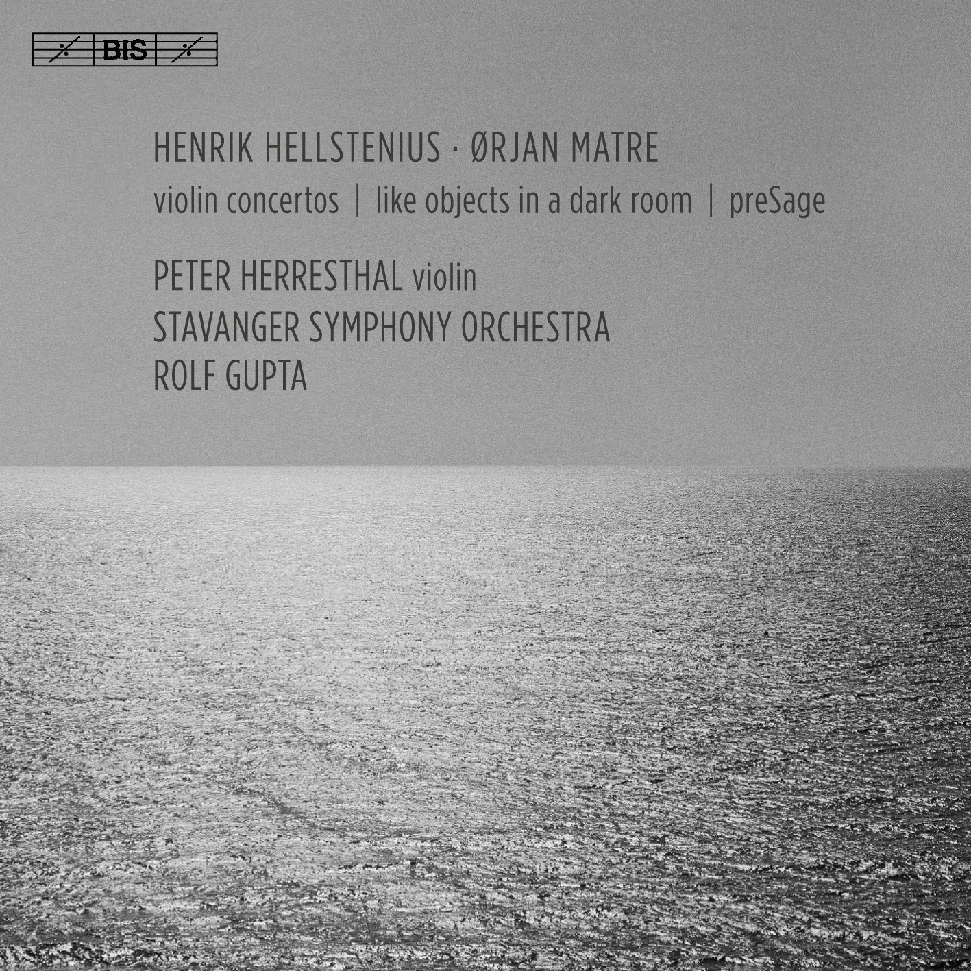 SACD : Peter Herresthal - Henrik Hellstenius & Orjan Matre: Violin Concertos (SACD)