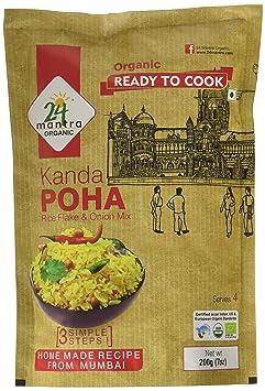 24 Mantra Organic Kanda Poha, 200g