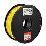 PLA Filament for 3D Printer - Vibrant Yellow 3D