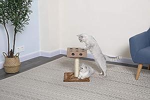 Go Pet Club IQ Busy Box Cat Tree