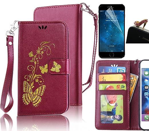 2 opinioni per Sunroyal® Custodia per Samsung Galaxy Core Prime SM-G360F, Flip Portafoglio