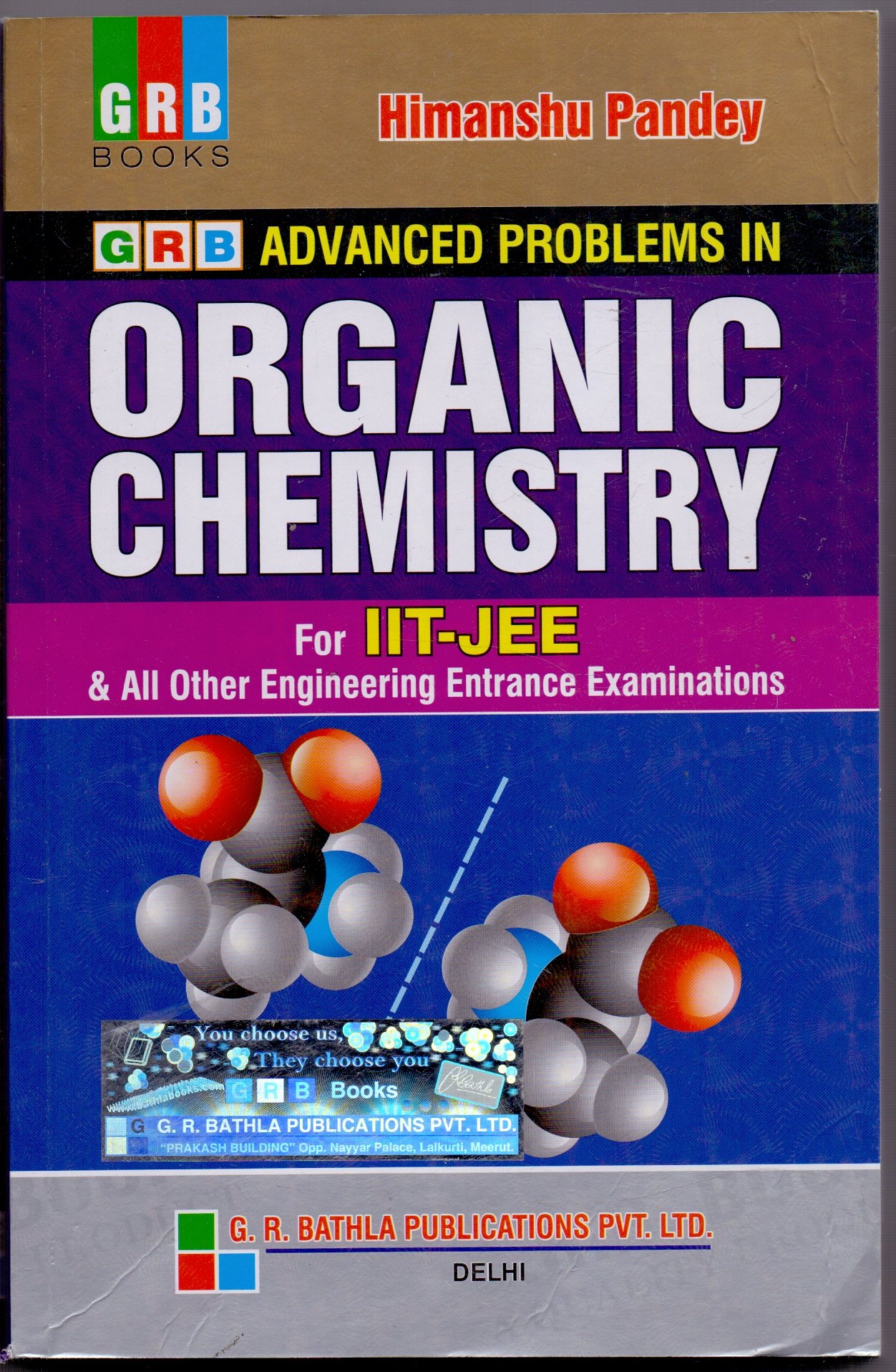 grb advanced organic chemistry solutions himanshu pandey