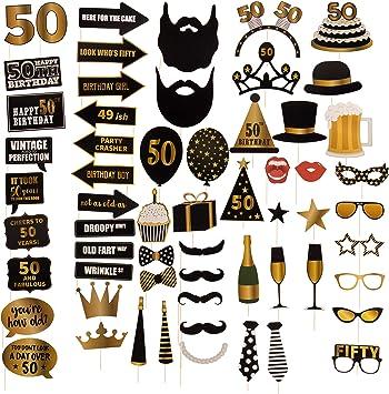 Amazon.com: Paquete de 60 accesorios para botines de fotos ...