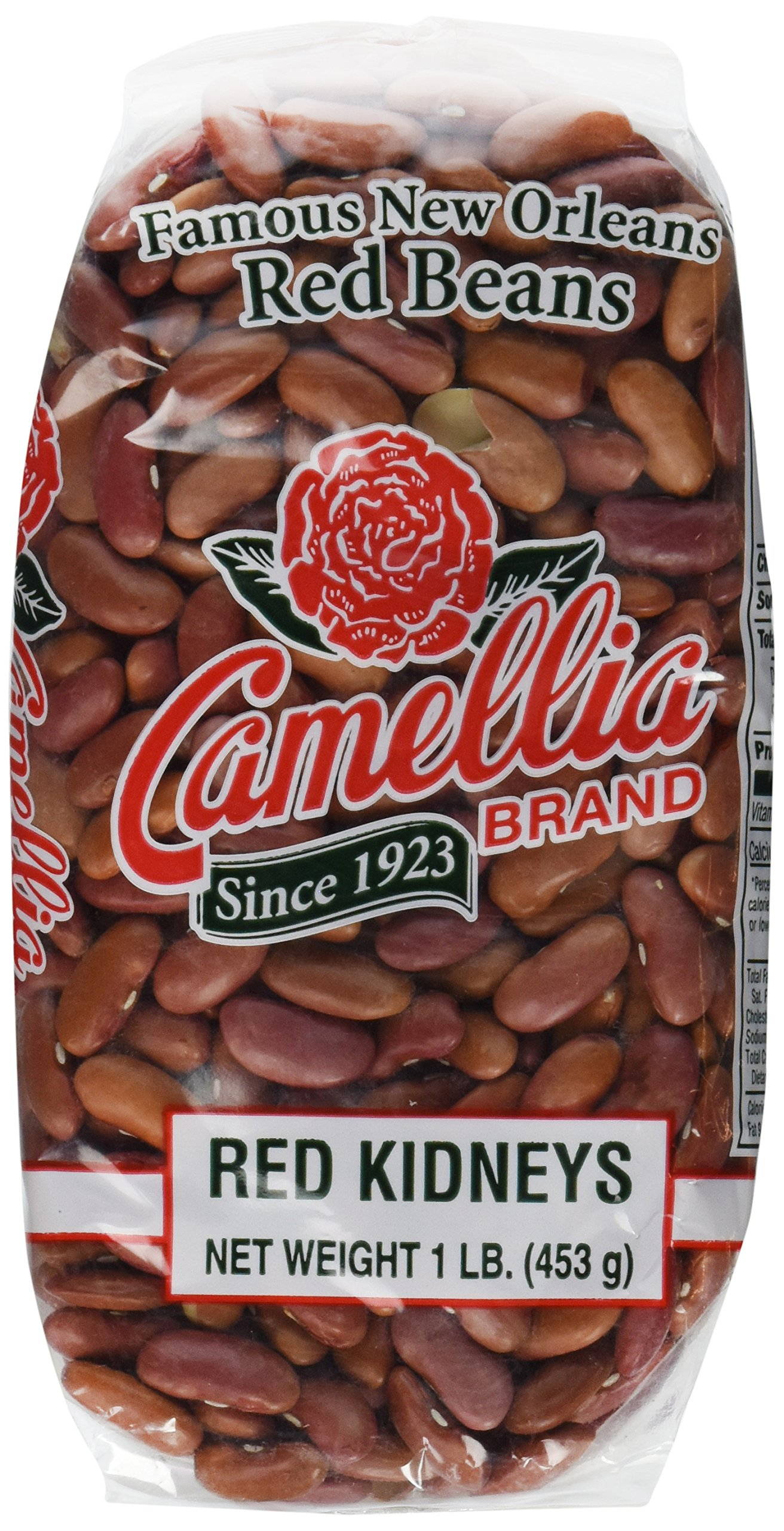 Camellia Famous New Orleans Red Beans - 16 Ounce Bags (Four Pack)