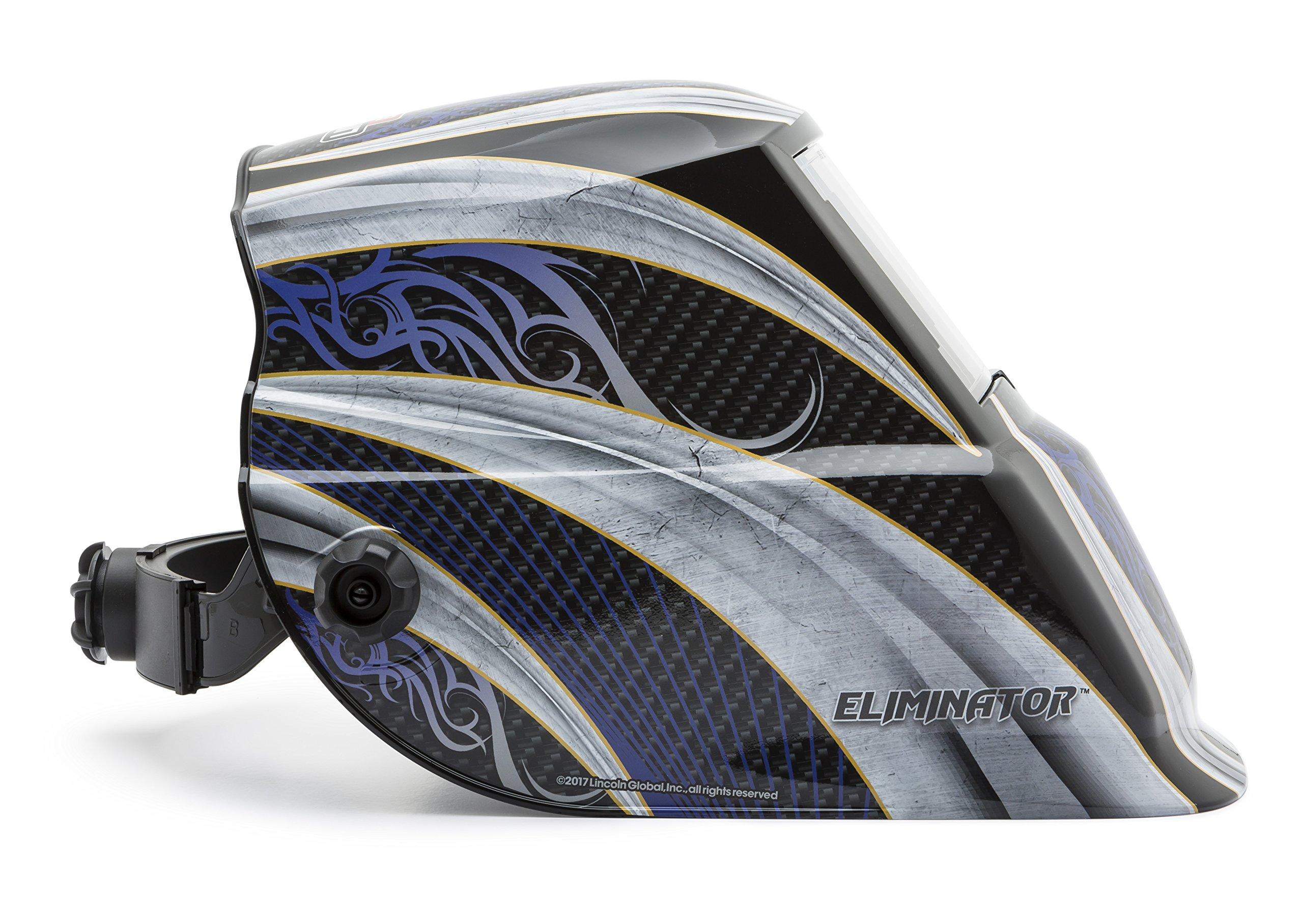Lincoln Electric K3320-2 Eliminator VAR Sh 7-13 ADF Helmet, Capacity, Volume, Polycarbonate, 11.12 x 10.25 x 11.87, Black ( by Lincoln Electric (Image #7)