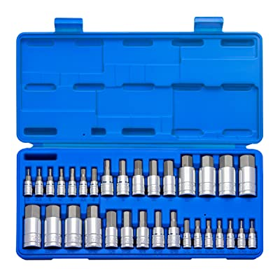 """Neiko 10288A Master Hex Bit Socket Set, 32 Piece 