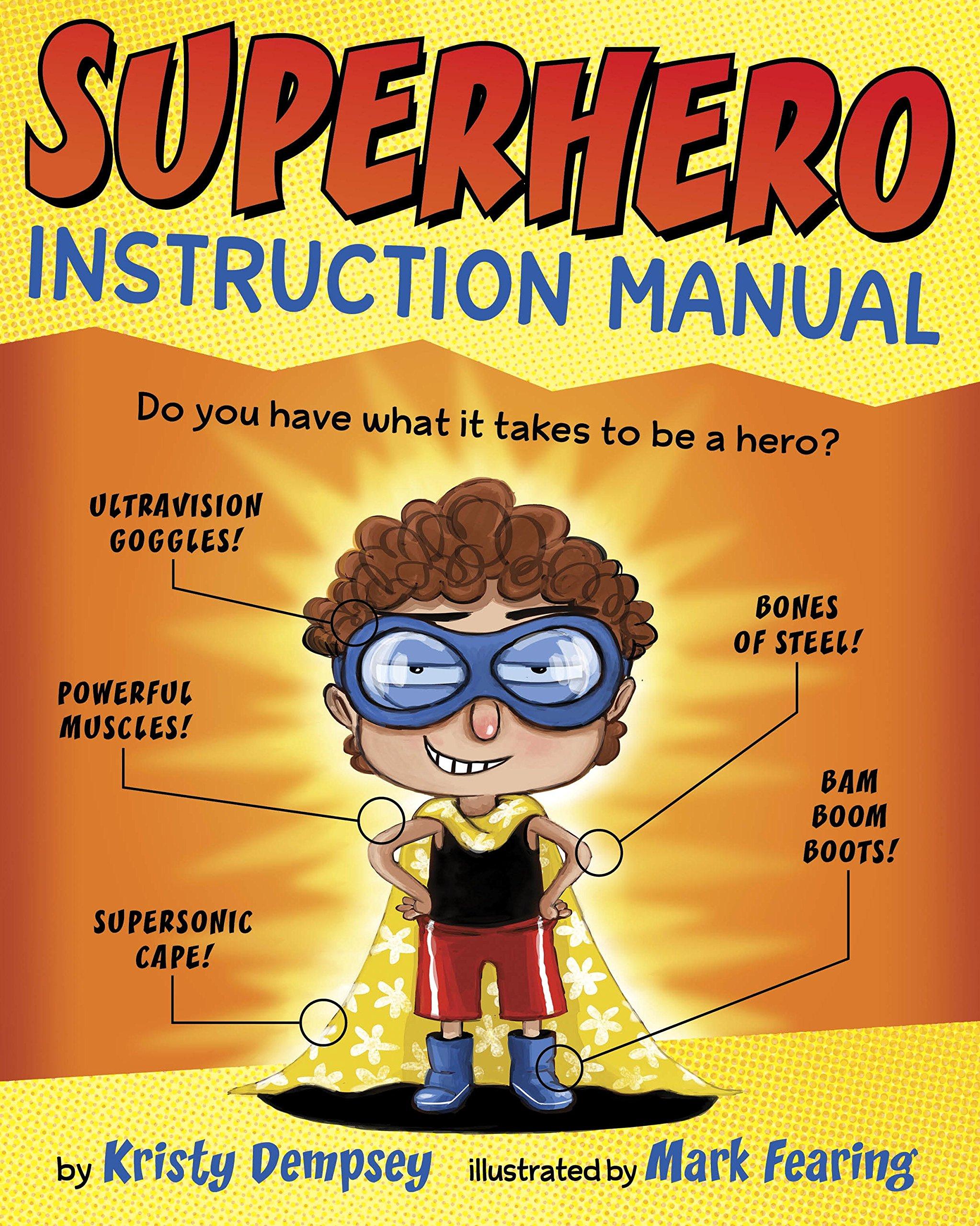 Superhero Instruction Manual Kristy Dempsey product image