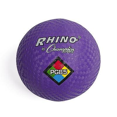 Champion Sports Playground Ball (Purple, 8.5-Inch): Sports & Outdoors [5Bkhe0402421]