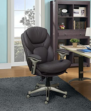 Amazoncom Serta Works Ergonomic Executive Office Chair With Back
