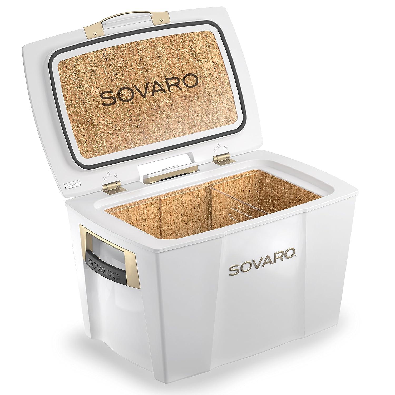 【国内正規総代理店アイテム】 SOVARO Cooler 70QT White Cooler B01EORCNOA/Gold SOVARO [高級感溢れるクーラーボックス] B01EORCNOA, carrat...+:61128910 --- pizzaovens4u.com