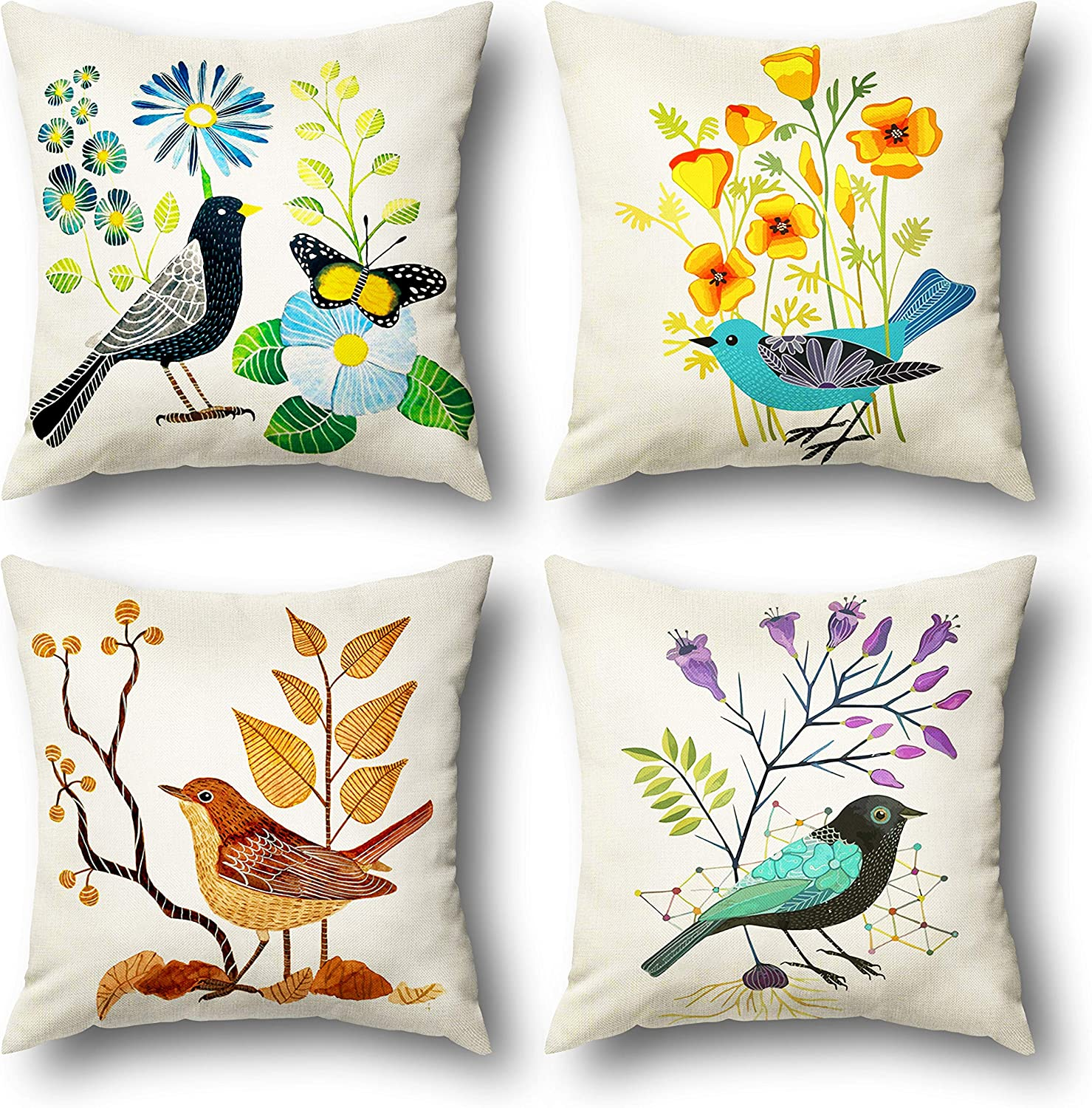 50% Off Coupon – Pillow Covers 18×18 Set of 4 for Spring