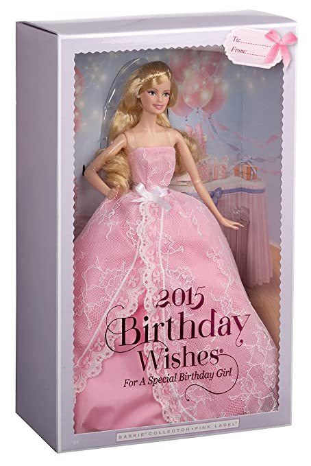 Amazon Barbie 2015 Birthday Wishes Doll Discontinued By Manufacturer Toys Games