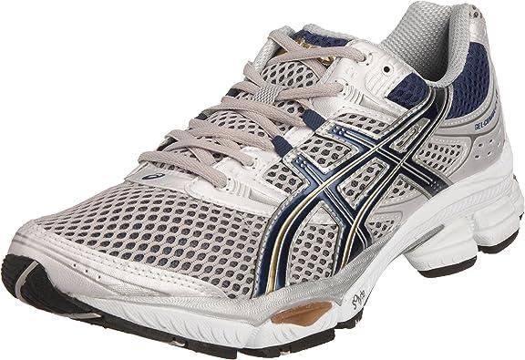 ASICS - Zapatillas de Running de Nailon para Hombre Azul, Color Plateado, Talla 45.5 EU: Amazon.es: Zapatos y complementos