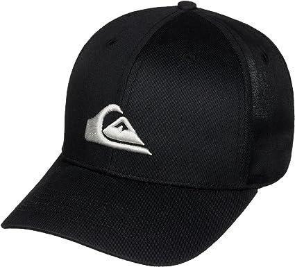 Quiksilver Decades Gorra negra talla unica: Quiksilver: Amazon.es ...