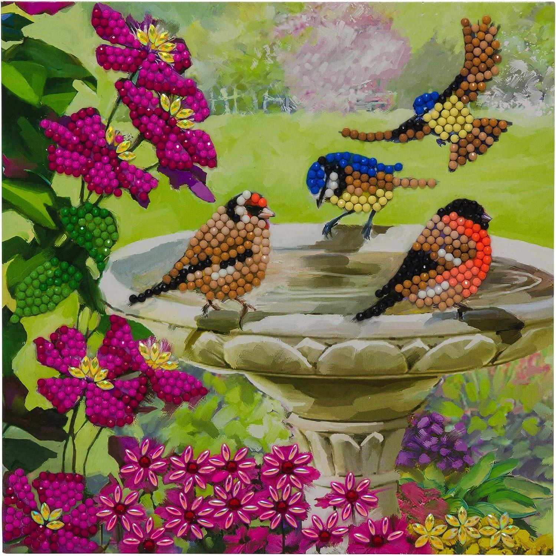 CRAFT BUDDY Diamond Painting Crystal Rhinestone Embroidery 30x30cm Butterflies