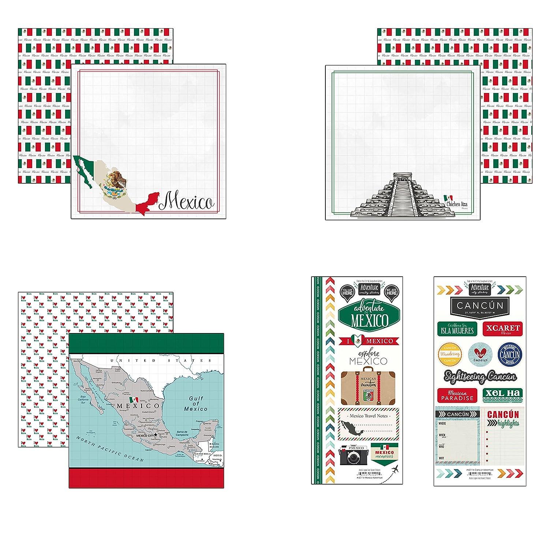 Scrapbook Customs Mexico Adventure Scrapbook Kit