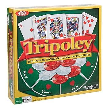 Ideal Tripoley Deluxe Mat Edition Juego de Cartas: Amazon.es ...