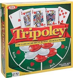 Ideal Tripoley Deluxe Mat Edition Juego de Cartas: Amazon.es: Juguetes y juegos