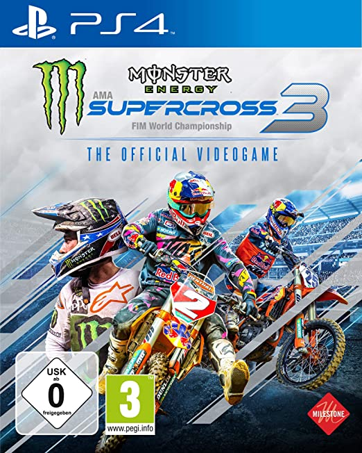 Monster Energy Supercross - The Official Videogame 3 (Playstation ...