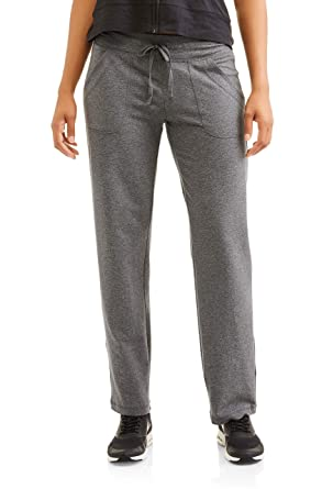 d498e44f28b2a Athletic Works Women s Knit Lounge Pant with Pockets(Regular and ...