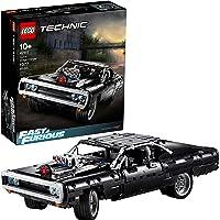 Lego Technic 42111 Fast & Furious Dom's Dodge Charger Race Car Building Set (1077 Pieces) (2020 Model)