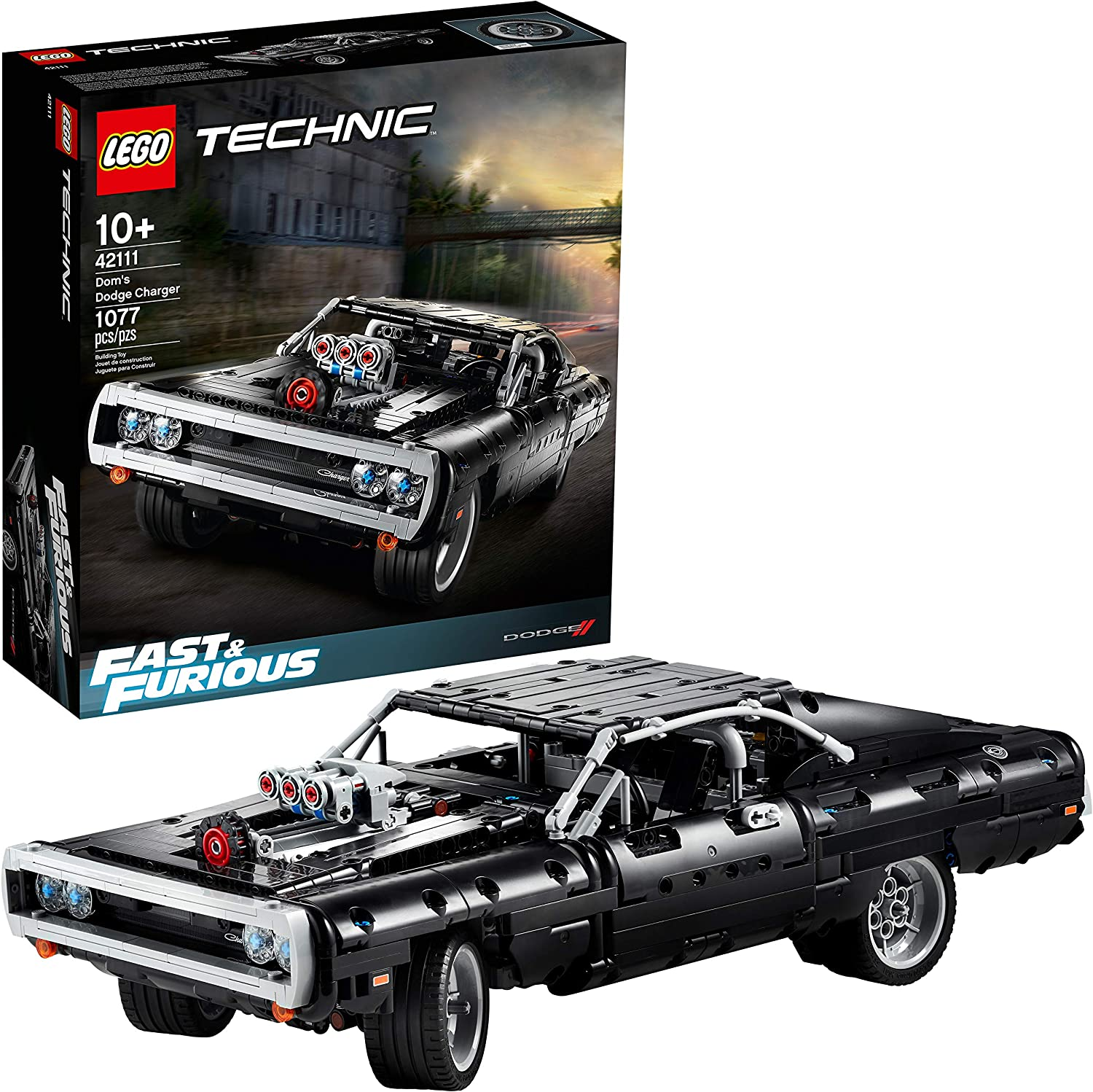 Amazon Opens Pre-Orders For Lego Fast & Furious Dom's Dodge Charger Building Set