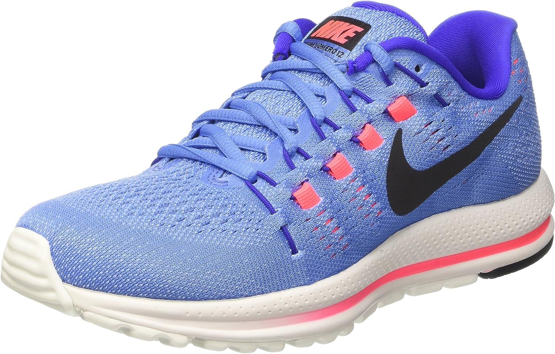Nike Wmns Air Zoom Vomero 12, Zapatos para Correr para Mujer, Azul (Polar/black/paramount Blue/aluminum/hot Punch), 38.5 EU: Amazon.es: Zapatos y complementos