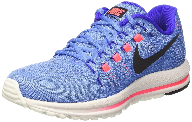 Nike Wmns Air Zoom Vomero 12, Zapatillas de Running para Mujer 38.5 EU|Azul (Polar/Black/Paramount Blue/Aluminum/Hot Punch)
