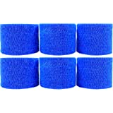 "Powerflex 2"" Stretch Athletic Tape - BLUE - 6 Rolls"