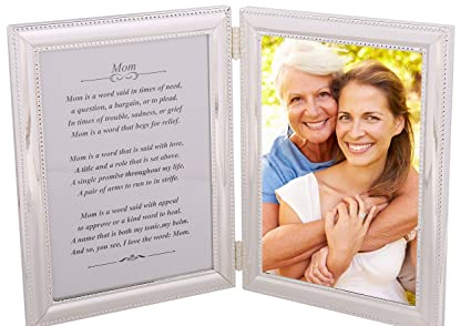 Amazon.com - Birthday Gift Picture Frame for Mom from Daughter or ...
