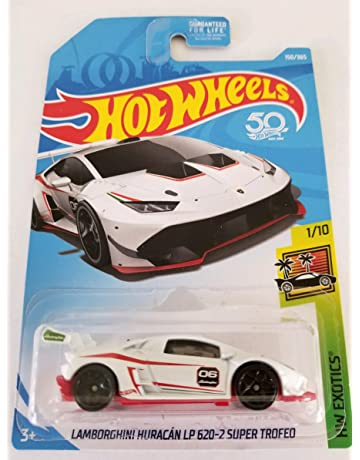 Hot Wheels 2018 50th Anniversary HW Exotics Lamborghini Huracan LP 620-2 Super Trofeo 150