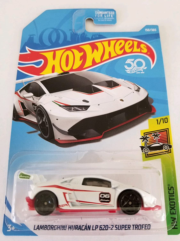 Hot Wheels 2018 50th Anniversary HW Exotics Lamborghini Huracan LP ...