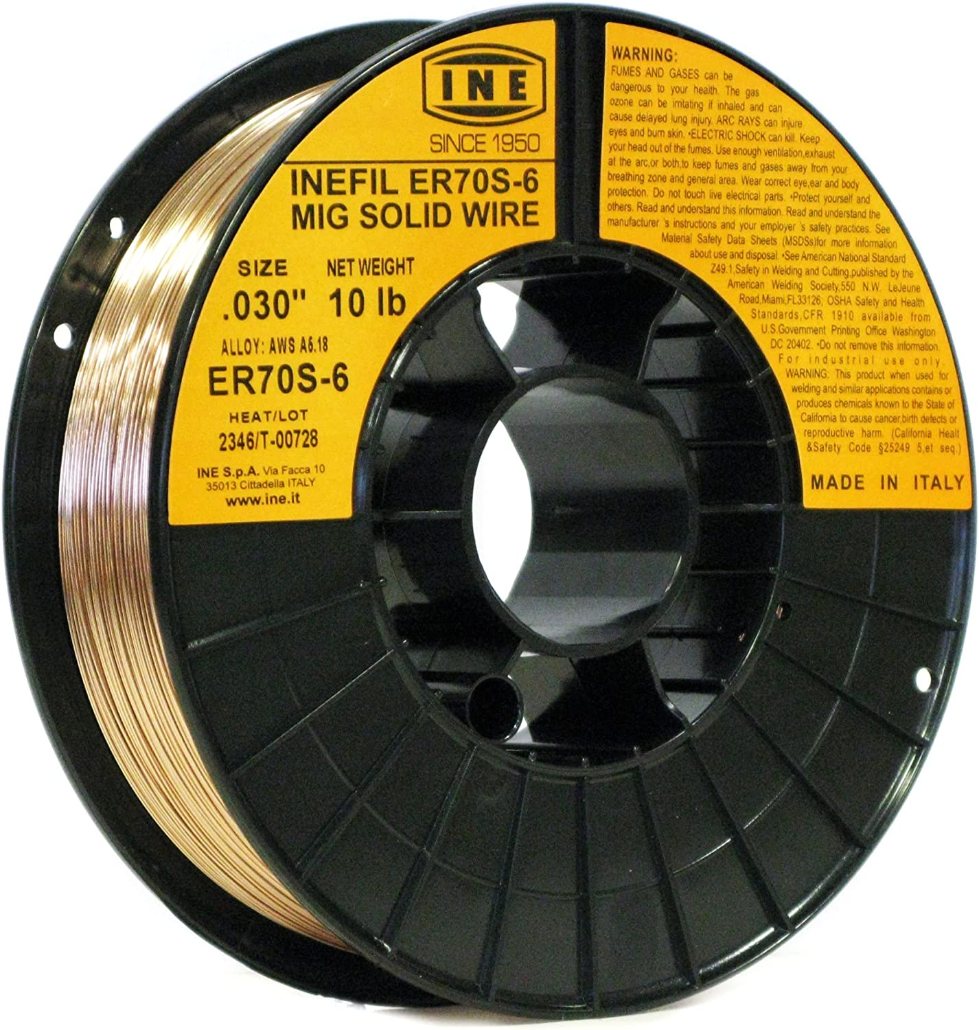 #2 Inefil ER70S-6 Carbon Steel Mig Solid Welding Wire