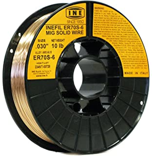INETUB BA71TGS .030-Inch on 2-Pound Spool Carbon Steel Gasless Flux ...