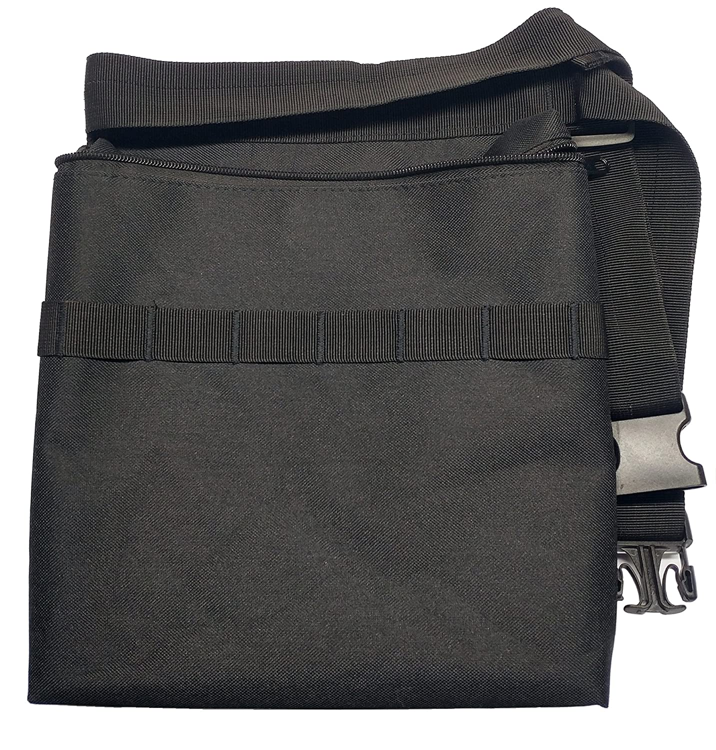 Epic Gear USA Epic Gear Black Metal Detecting Diggers Pouch with Interior Pocket - Adjustable to fit up to 48 Waist (Standard)