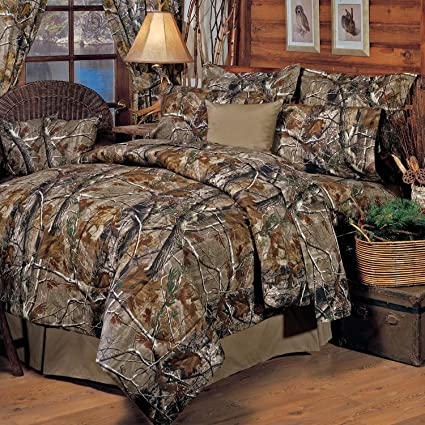 Realtree All Purpose Comforter Set King