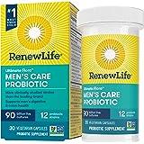 Renew Life Adult Probiotic - Ultimate Flora Men's Care Probiotic Supplement - Gluten, Dairy & Soy Free - 90 Billion CFU - 30 Vegetarian Capsules