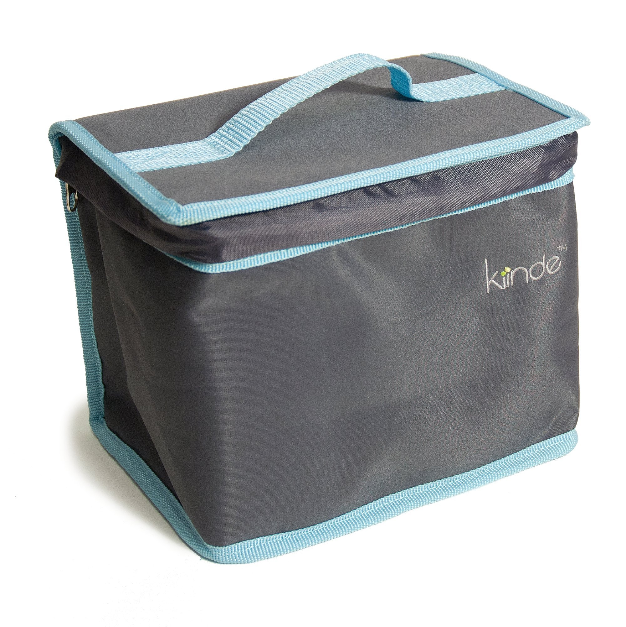 Kiinde Twist Breast Milk Storage Bag and Ice Pack Kit for Breastfeeding Moms - Gray by Kiinde