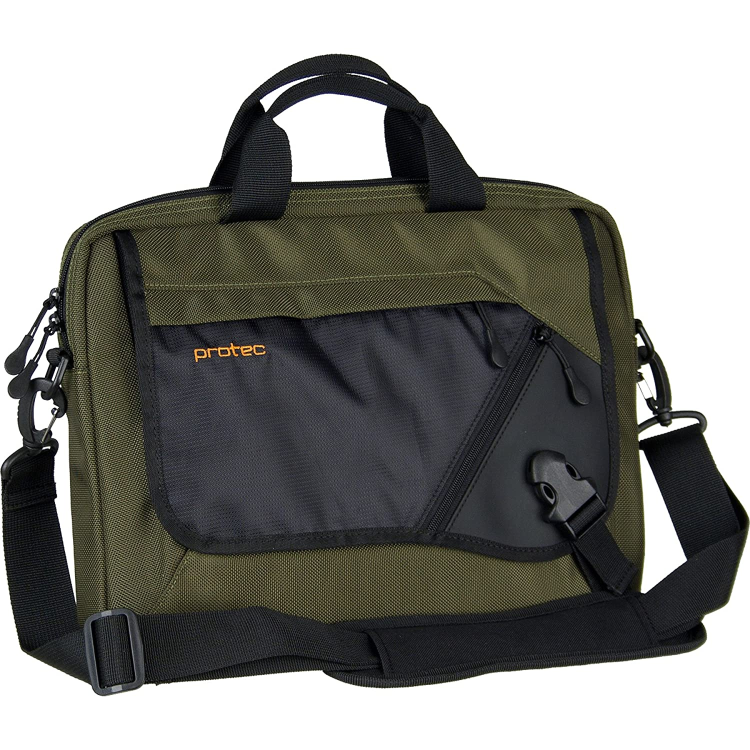 83f7e76fc62 Amazon.com  Pro Tec Slim Notebook Tablet Messenger Brief (A500)  Electronics