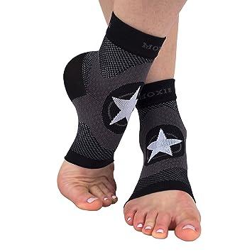Pie manga de compresión para fascitis Plantar tratamiento y pie y sobreabundancia, color , tamaño large: Amazon.es: Deportes y aire libre
