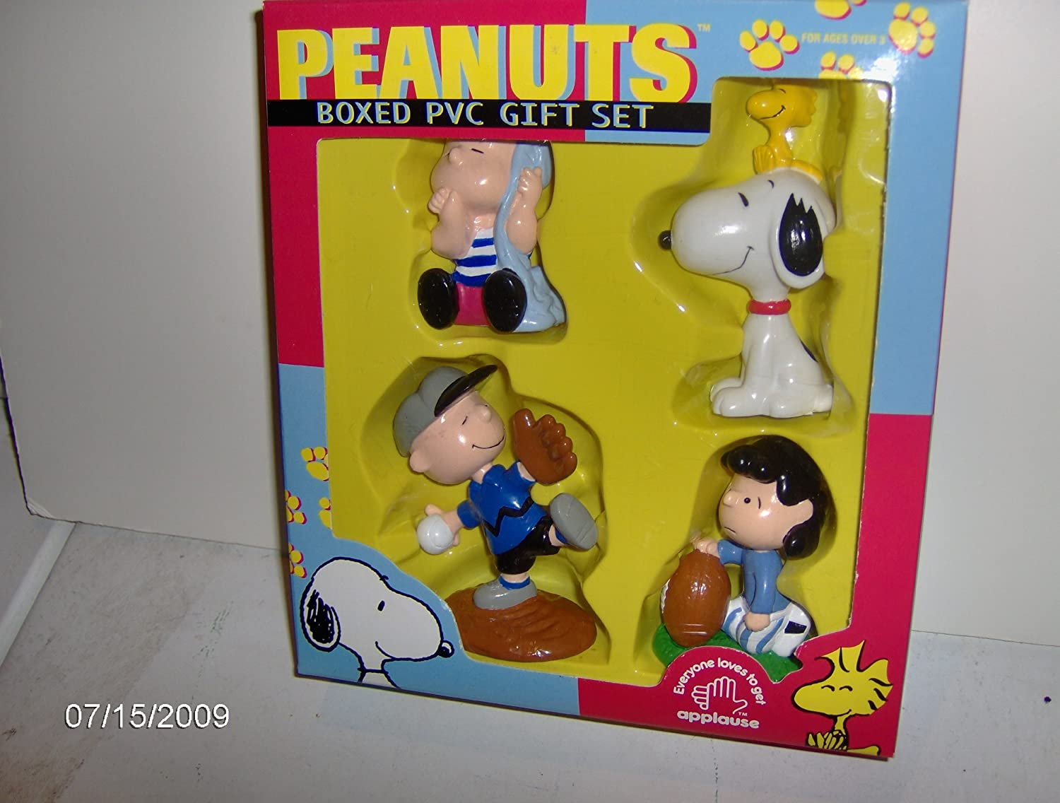 Peanuts Boxed PVC Gift Set by Applause