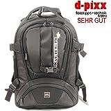 TOP XTREM+ XTREMPLUS Dynamik Shuttle M - Premium Fototasche - SLR Fotorucksack - Kamerarucksack mit Zugriff über das Rückenteil -