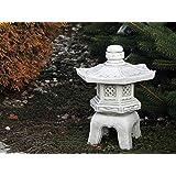Top Model Massive Oki Gata Yukimi pietra giapponese lanterna di pietra artificiale frostfest