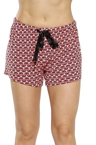6dfae02b87 CS601104-48-M Christian Siriano New York Womans Pajamas Shorts - PJs -  Sleepwear Flutter Fly Medium at Amazon Women s Clothing store