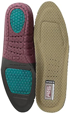 Ariat Men's ATS A10008007 Shoe Insert Footbed Round Toe Insole, 7 ...