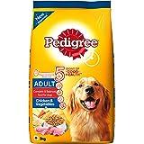 Pedigree Adult Dog Food Chicken & Vegetables, 3 kg Pack