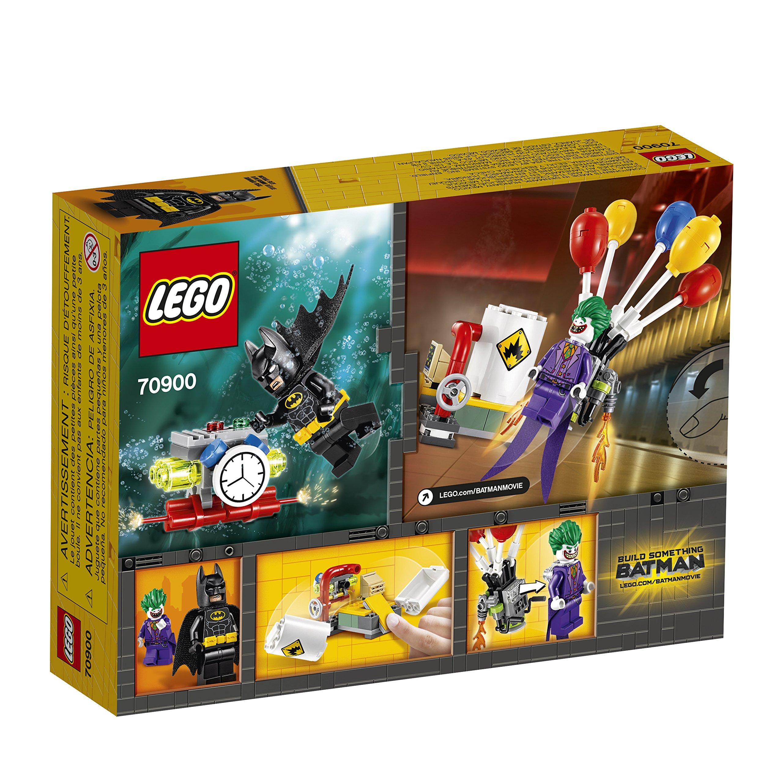 THE LEGO BATMAN MOVIE The Joker Balloon Escape 70900 Batman Toy