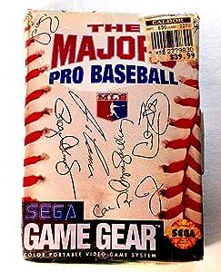 Majors Pro Baseball Sega Game Gear